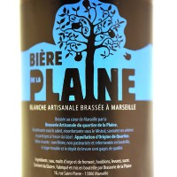 Bière de la Plaine Blanche 75 cl, Bière de Marseille