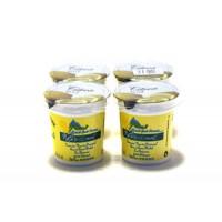 Yaourt aromatisé Citron au Lait Entier Pack 4x125 gr