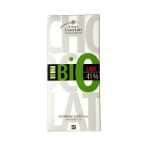 Tablette Bio Lait 41 %, 100 gr chocolat de Provence