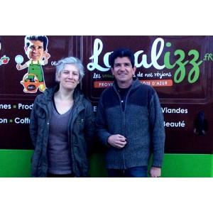 Adeline de la Biscuiterie de Rognes & Eric de Localizz