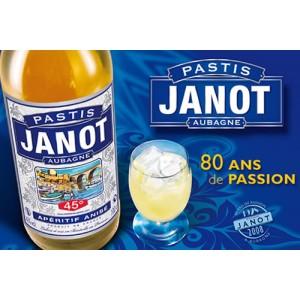 Distillerie Janot Provence : Pastis, Pastis bleu, Gambetta, Garlaban, Sirops, apéritifs de Provence. Pastis Janot, coffrets cadeau.