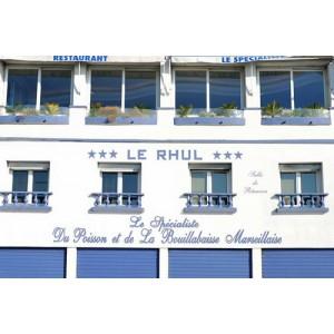 restaurant le rhul véritable bouillabaisse de Marseille