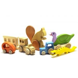 Les Jouets traditionnels du Queyras, jeux, puzzle, objets et déco en bois