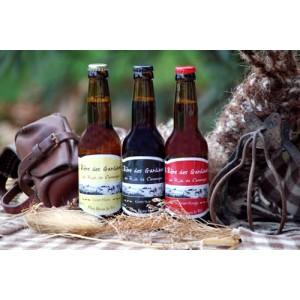Bière de Riz de camargue en trois parfums, Provence