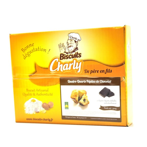 Quatre quart p pites de chocolat biscuits charly for Decoration quatre quart