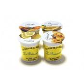 Yaourts Aromatisés Fruits Jaunes au Lait Entier Pack 4x125 gr