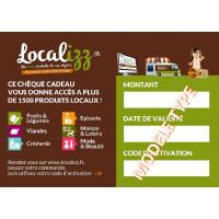 Cheque Cadeau 100% Provence 60 euros