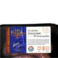 Saucissette Provençale de 75 gr - Barquette de 1Kg - Produits de Provence