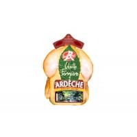 Poulet Fermier Label Rouge Ardèche Jaune 1,25 kg