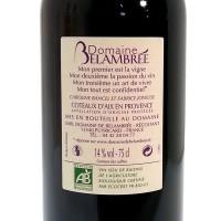 Vin Rouge Bio Cuvée les Ephémères AOC 2011 - 75 cl