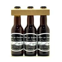 Bière des Gardians Brune - Pack de 3