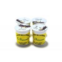 Yaourt Aromatisé Vanille au Lait Entier Pack 4x125 gr