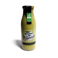 Soupe BIO Courgette / Menthe Pot de 500ml - Soupe Bio de Provence - Ventraben