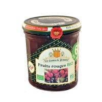 Confiture à l'ancienne Bio Fruits Rouges 350 g