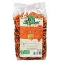 Torsades aux Lentilles Corail. 250 gr