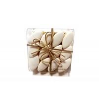 24 Mini Calissons d'aix en Provence dans un étui carré transparent