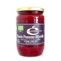 Purée Bio de Provence Pomme & Myrtille 620gr