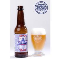 Bière blonde traditionnelle de Provence, douce et équilibrée, légère amertume sur une dominante florale.
