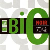 Tablette Bio Noir 70 %, 100 gr chocolat de Provence