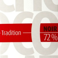 Tablette Tradition Boir 72 % 100 gr, Chocolat de Provence