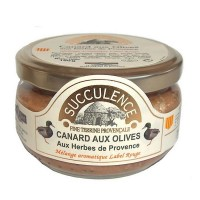 Terrine de cannard aux Olives 180 g