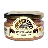 Terrine de Sanglier à la Fleur de Thym 180 gr