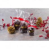 Aiguillettes de gingembre au chocolat noir- 100gr