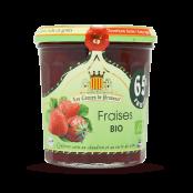 Confiture de fraises BIO 350 g
