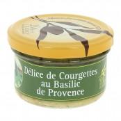 Délice de Courgette au Basilic de Provence- 90 g