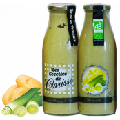 Soupe BIO de Provence, Poireau & Pomme de Terre