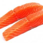 Pavé de saumon cru sous vide, 150gr environ
