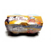 Flans aux œoeufs cuits au four 2*125 gr. Flan artisanal des Alpes, Vallée du Champsaur