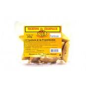 Barquette de 8 Tourtons cuits à la Framboise. Spécialité de la vallée du Champsaur dans les Hautes-Alpes