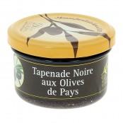 Tapenade Noire aux Olives de Pays - 90 g