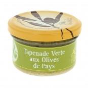 Tapenade Verte aux Olives de Pays - 90 g