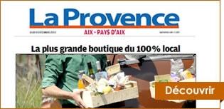 Commande en ligne de produits locaux de provence