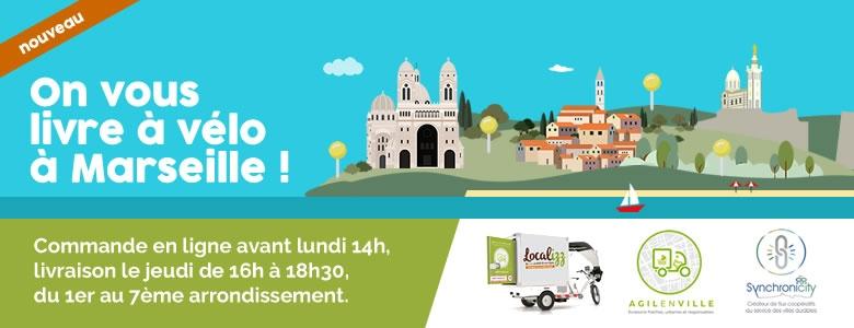 Commande en ligne de produits locaux à Marseille